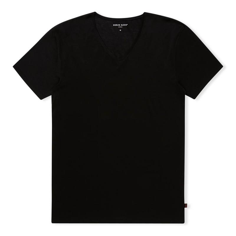 DEREK ROSE Lewis V-neck T-shirt