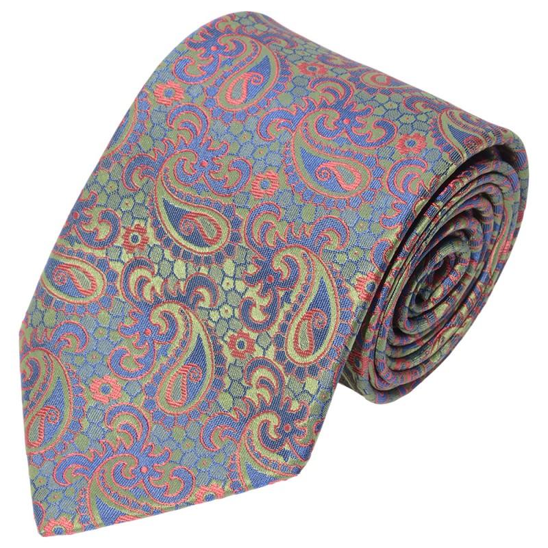 DOLCEPUNTA 3 Fold Silk Tie