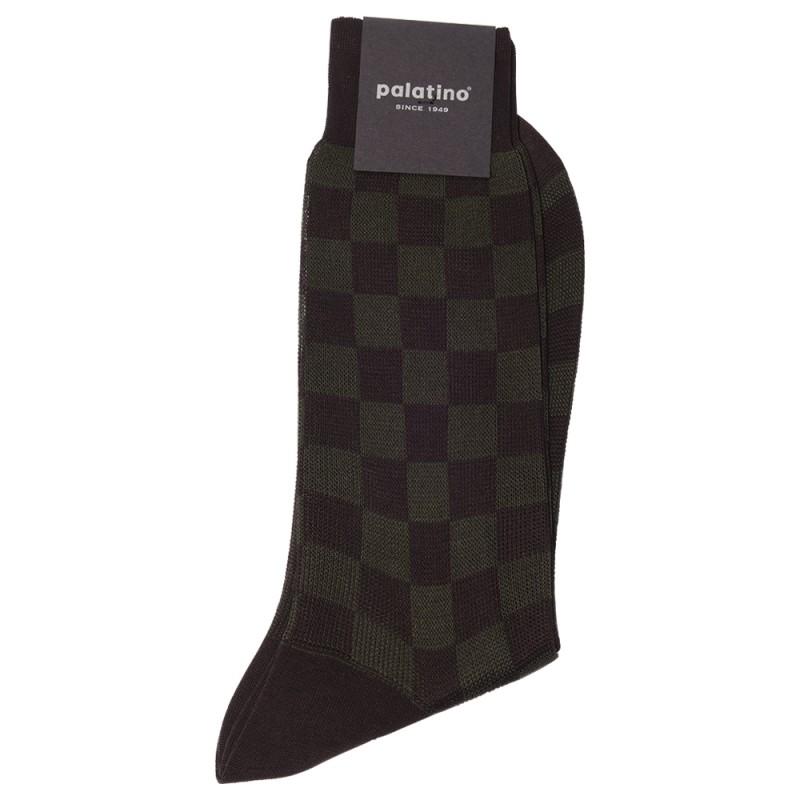 PALATINO Patterned Dress Socks