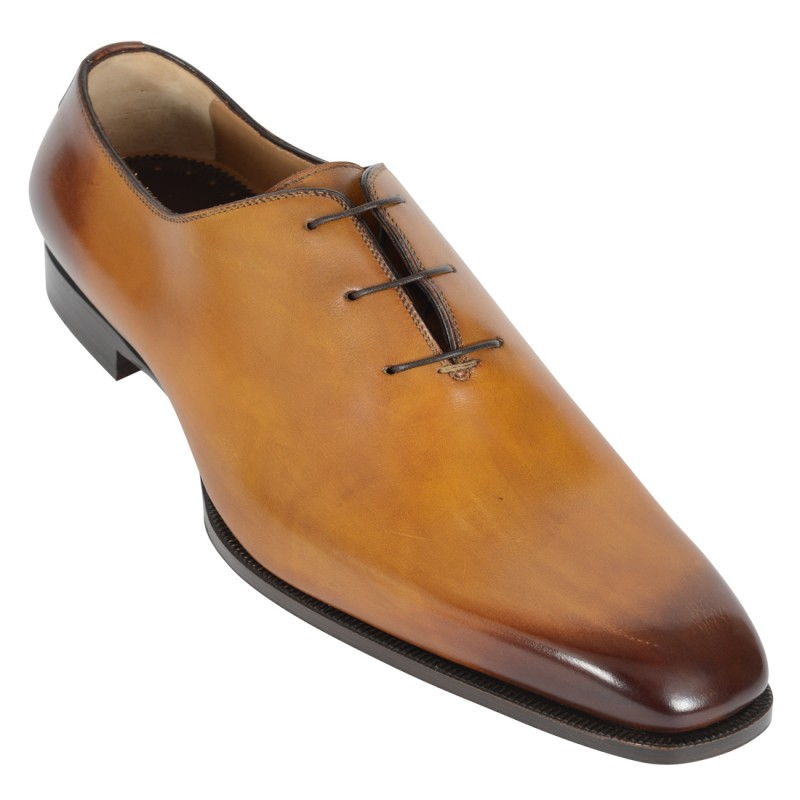 DI BIANCO Leather Derby Shoe