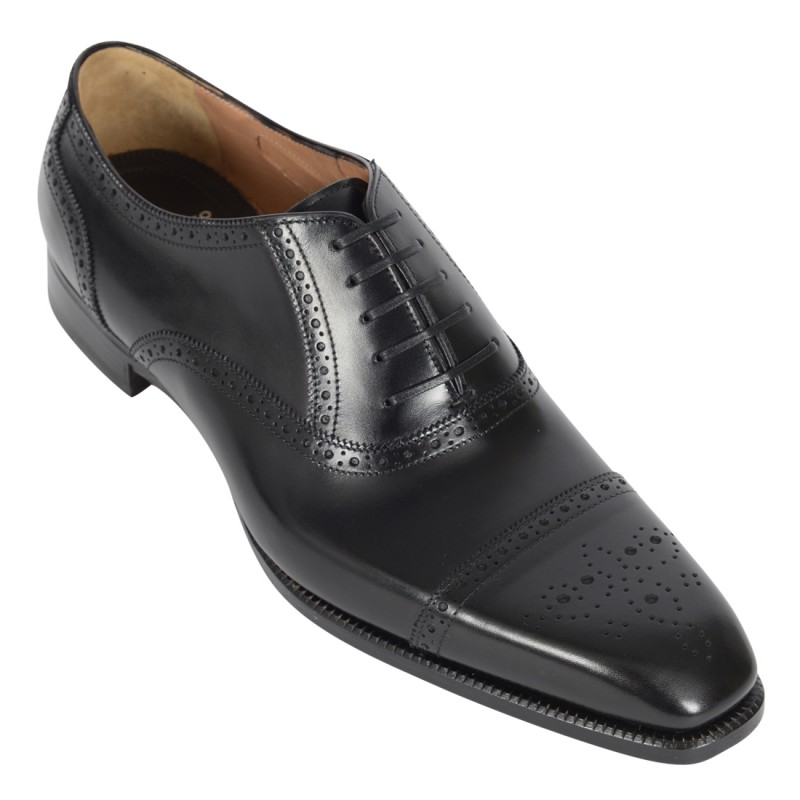 DI BIANCO Leather Oxford Brogue