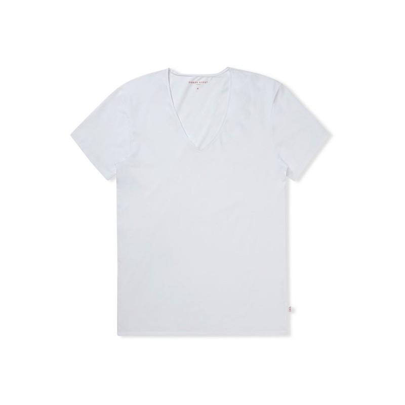 DEREK ROSE Underwear V-Neck T-Shirt