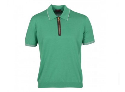 Alfredo Beretta green polo shirt