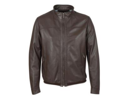 Gallotti brown leather jacket